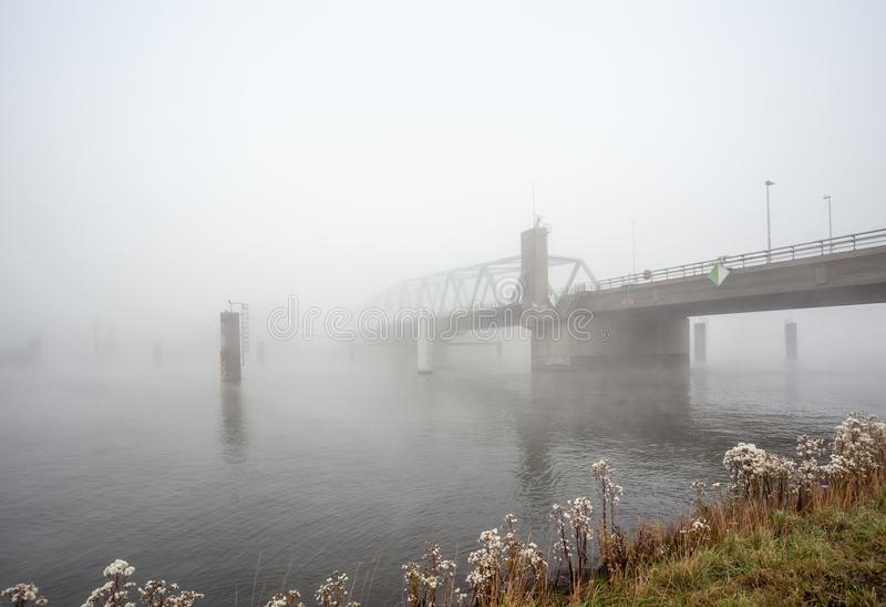 An froggy bridge stock image