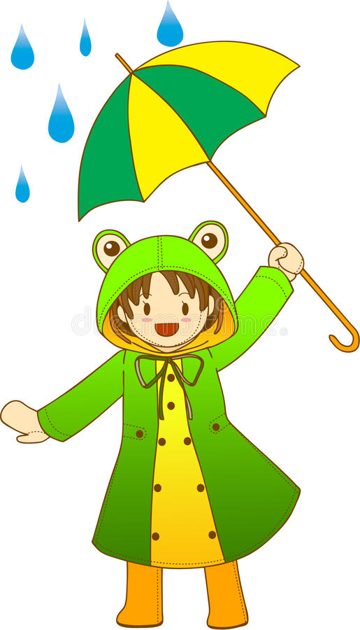 Froggy Girl Stock Images