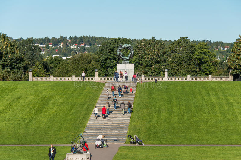 Download Frogner park in Oslo editorial photography. Image of norwegian - 26833562