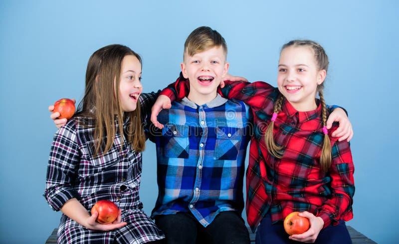 Frohe Gefühle und positive Gefühle haben Glückliche Kinder Glückliche Kleinkinder, die zusammen lachen und lächeln glücklich lizenzfreie stockfotografie