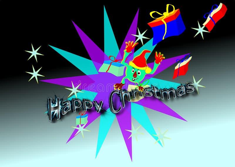 Frohe Weihnachten. vektor abbildung