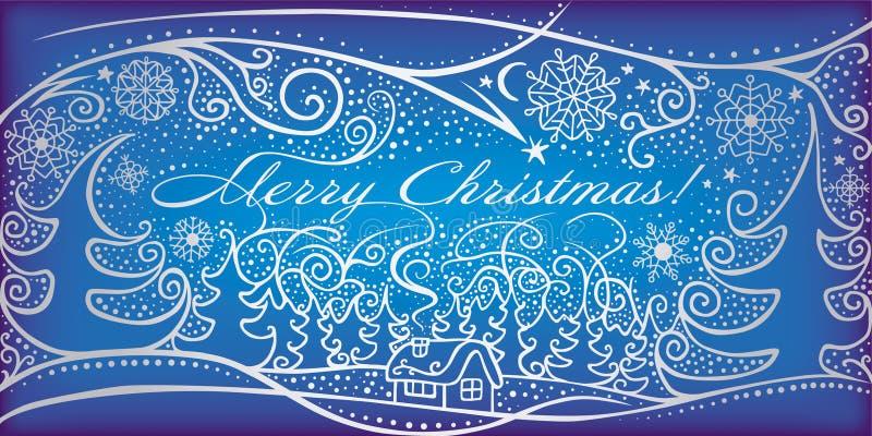Frohe Weihnachten! stock abbildung