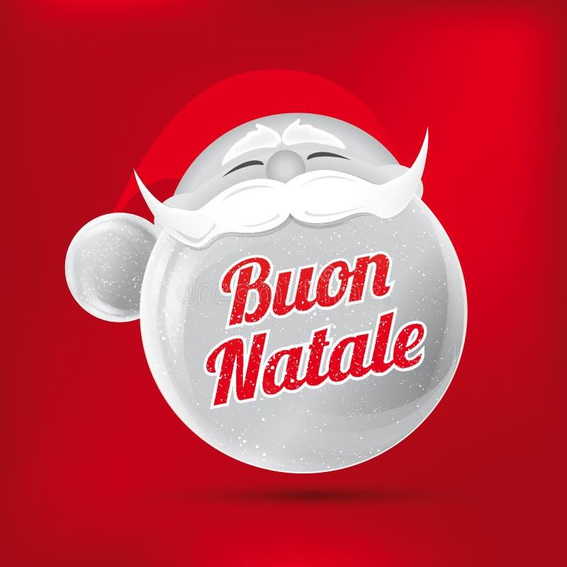 frohe weihnachten auf italienisch vektor abbildung illustration von natividad gl ck 46731277