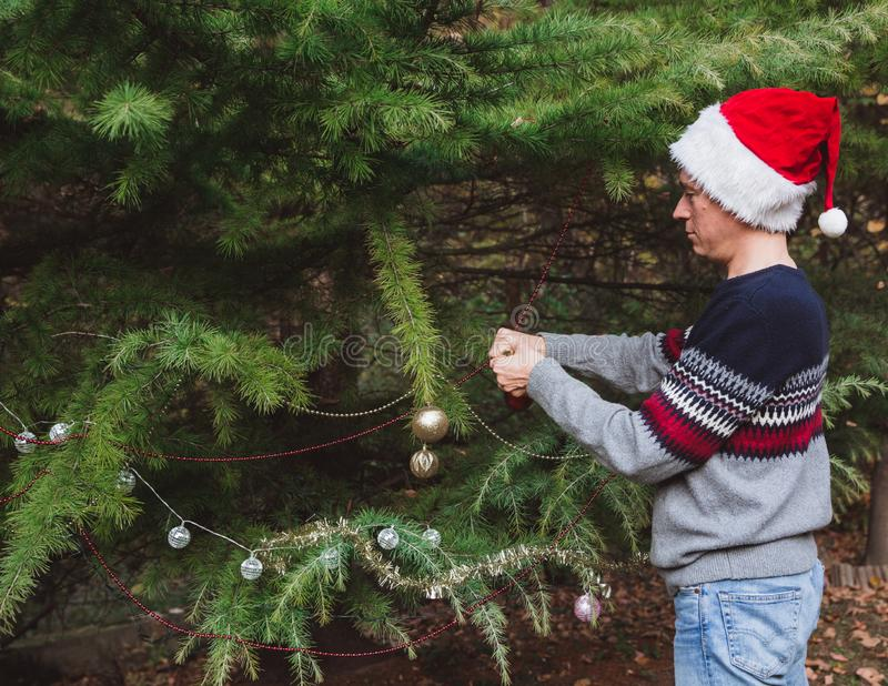 Frohe Weihnachten und frohe Feiertage E stockfotos