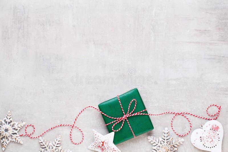 Frohe Weihnachten und frohe Feiertage Grußkarte lizenzfreies stockfoto