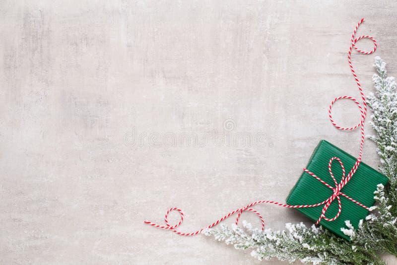 Frohe Weihnachten und frohe Feiertage Grußkarte lizenzfreie stockfotografie