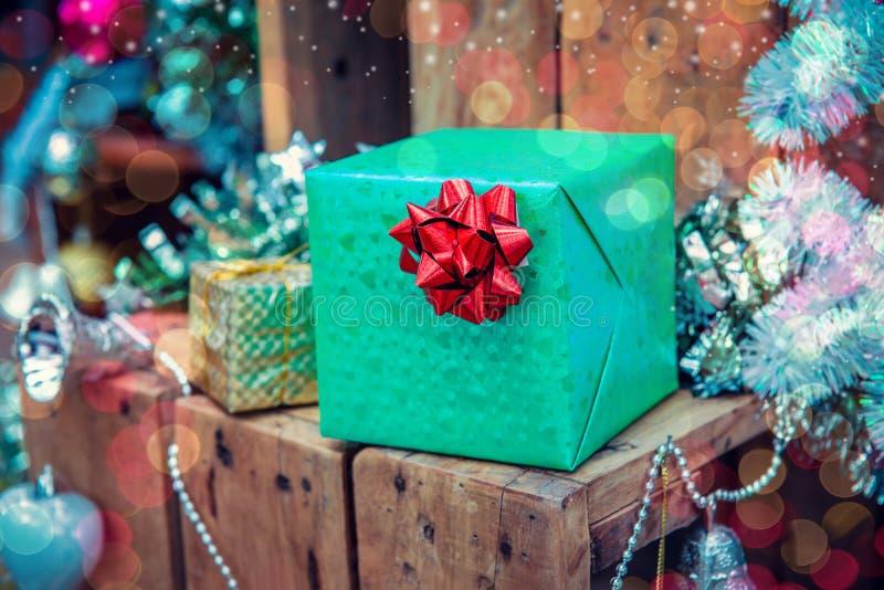 Frohe Weihnachten und guten Rutsch ins Neue Jahr stockbild