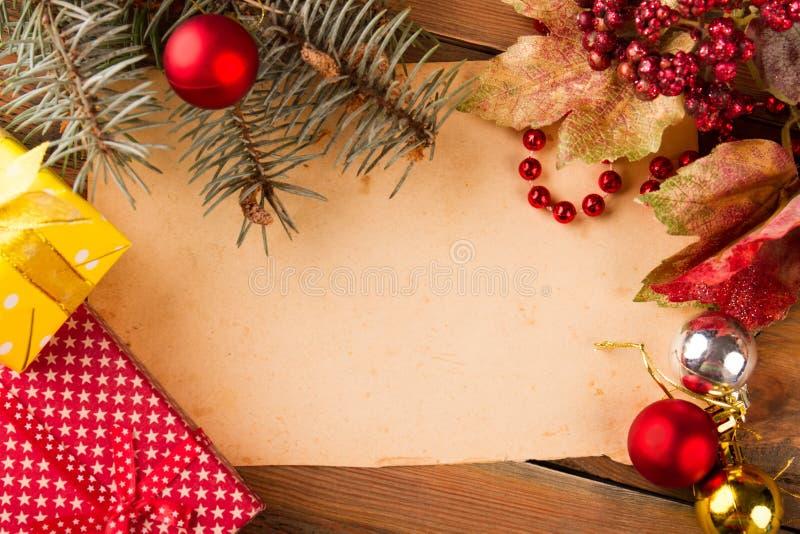 Frohe Weihnachten und guten Rutsch ins Neue Jahr! lizenzfreie stockfotografie