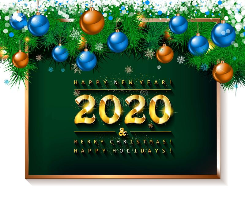 Frohe weihnachten und einen guten rutsch ins neue jahr 2020