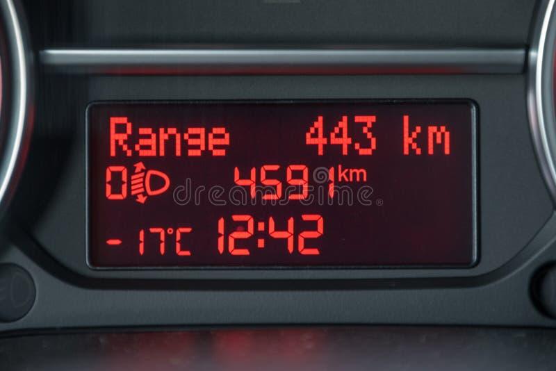 -17 froid de congélation d'hiver de degrés image libre de droits