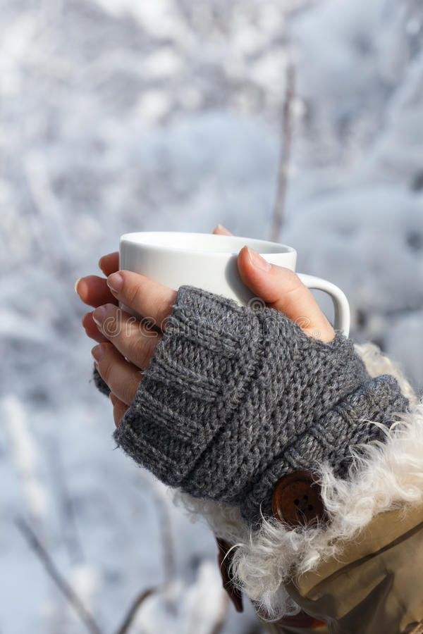 froid et chaud photographie stock libre de droits