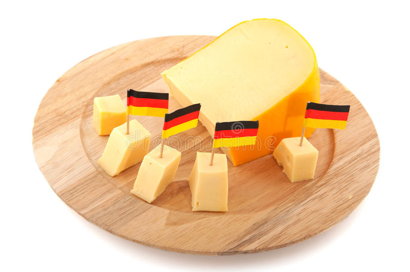 Fromage allemand photo stock