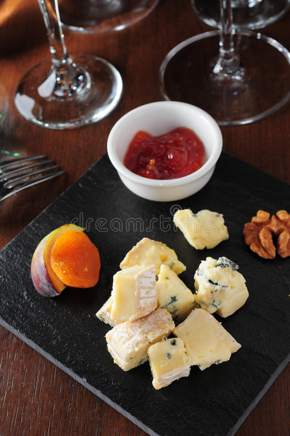 Fromage de cheddar photographie stock