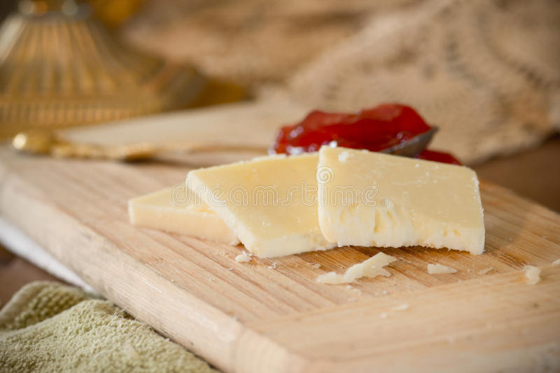Fromage de cheddar photo libre de droits