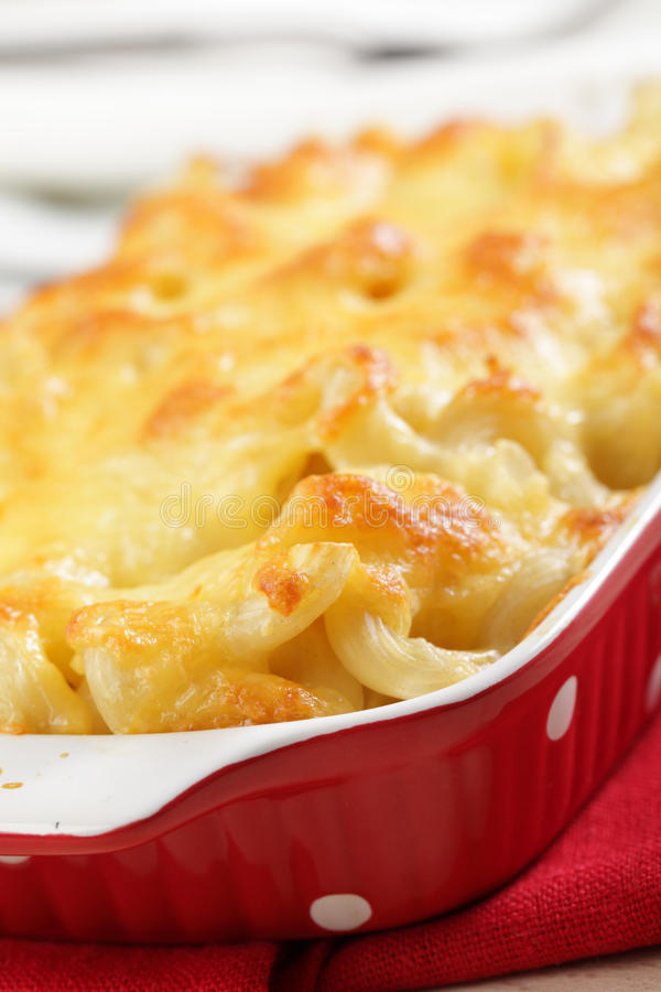 Fromage de macaronis photos stock