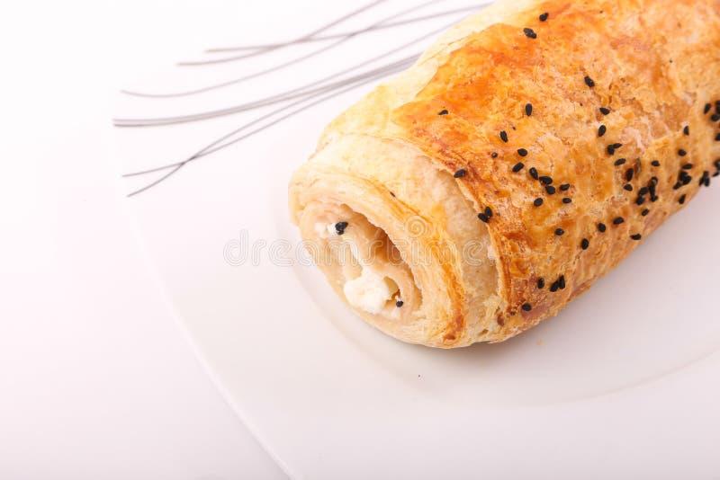 Fromage de pâté image stock