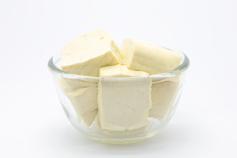 Fromage de tofu photos stock