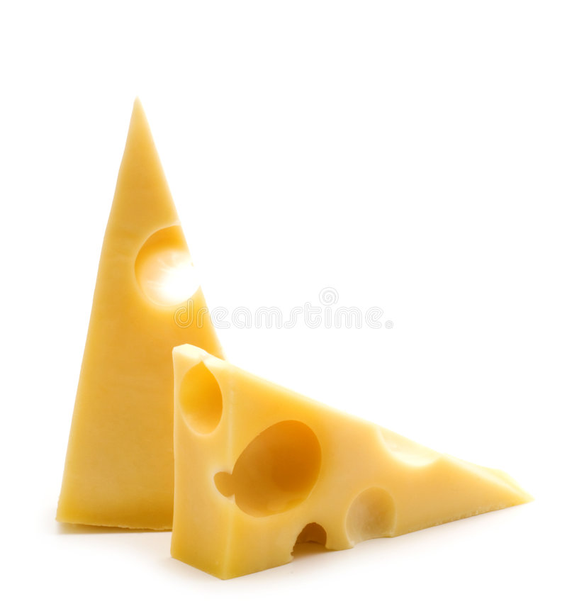 Fromage deux image stock