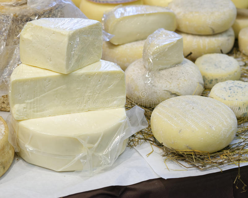 Fromage italien photo stock