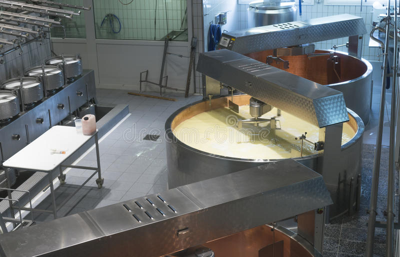 Fromagerie image stock
