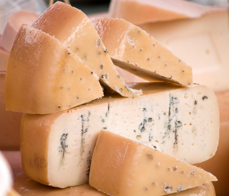 Fromages photographie stock