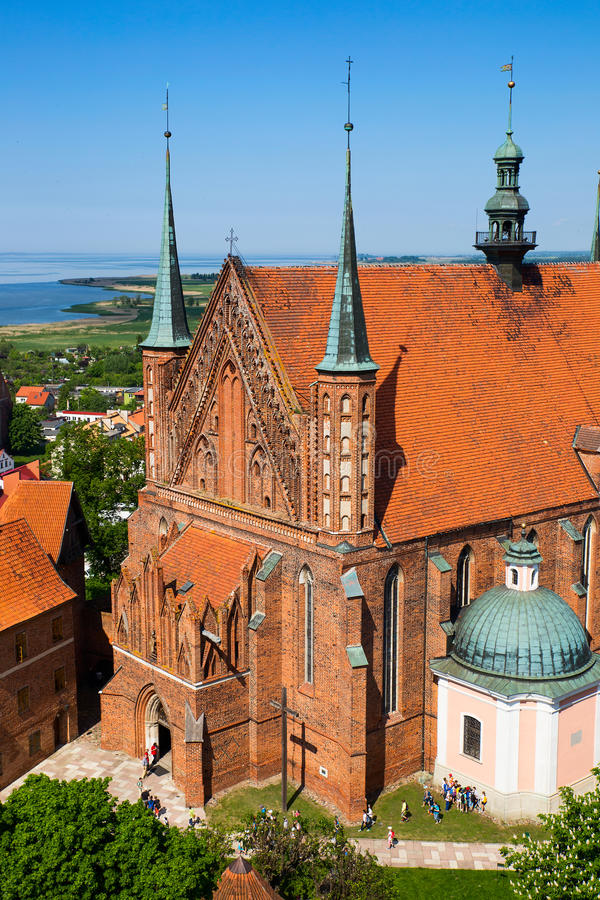 Frombork Cathedral royalty free stock photography