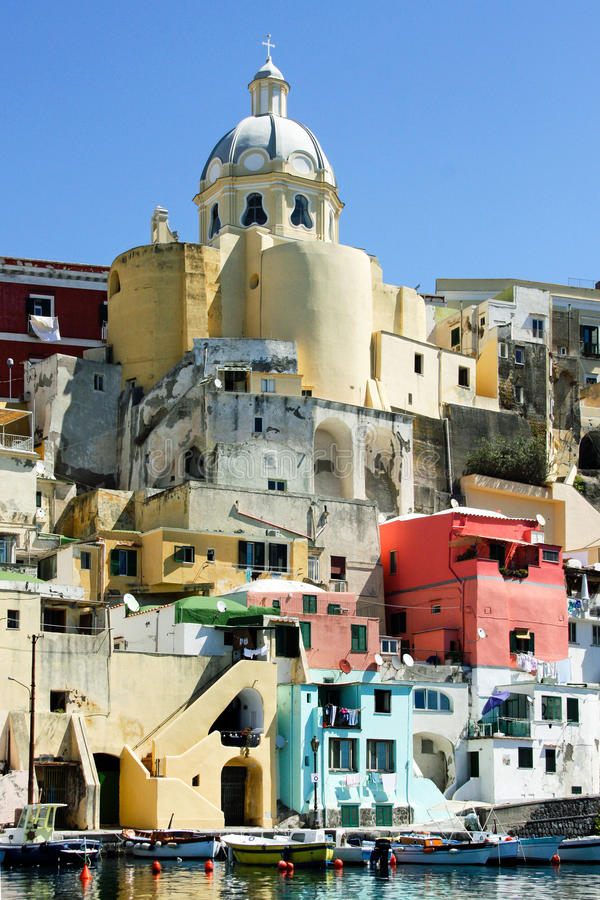Download Frome De Maison De Procida La Mer Image stock - Image du coloré, panoramique: 77151035