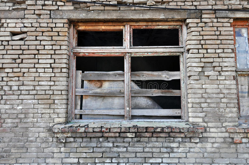 Download Front Of Abandoned Building Stock Photo - Image: 27520178