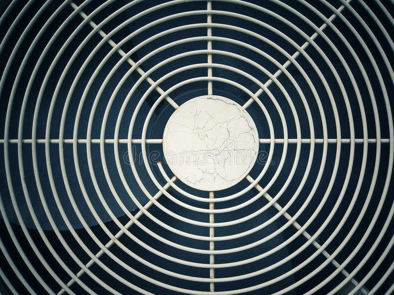 Front of air conditioning. Abstract background. stock photo