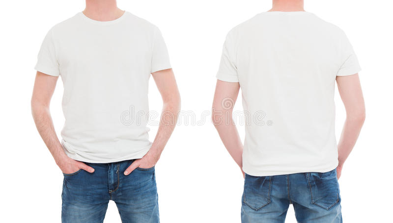 Back Front Tshirt White Stock Photos Download 4 568 Royalty Free