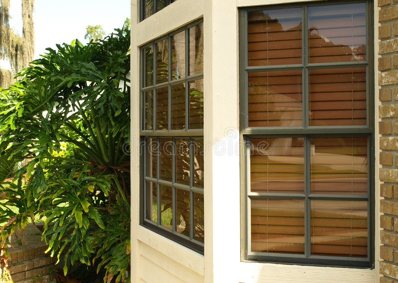 Front bay window 010 stock photography