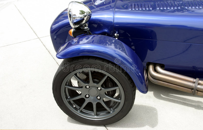 Download Front Of Blue Exotic Custom Sports Car Stock Images - Image: 2308374