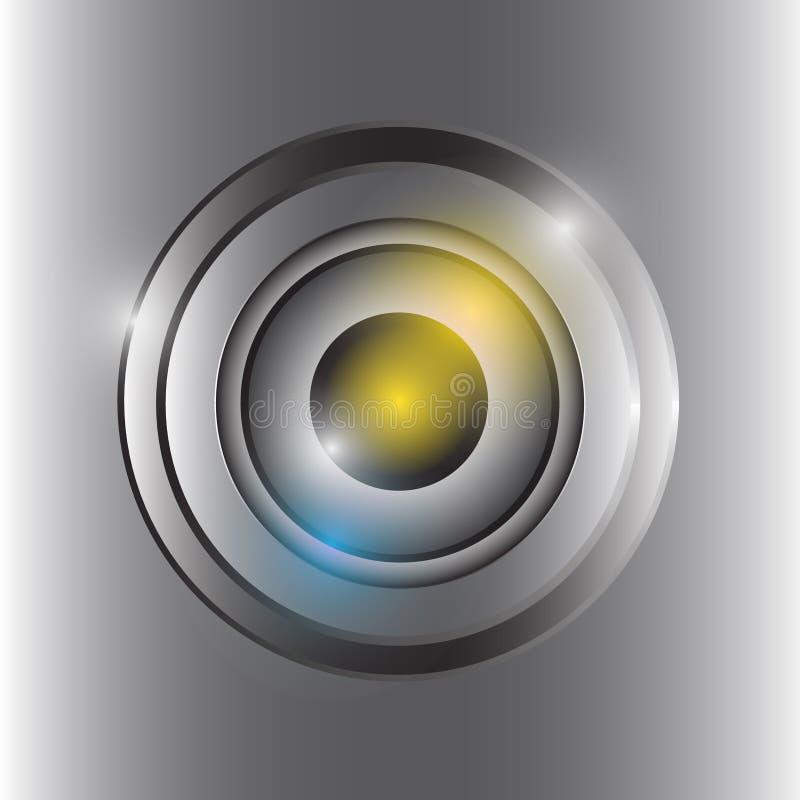 Front of camera lens vector. Is a general illustration vector illustration