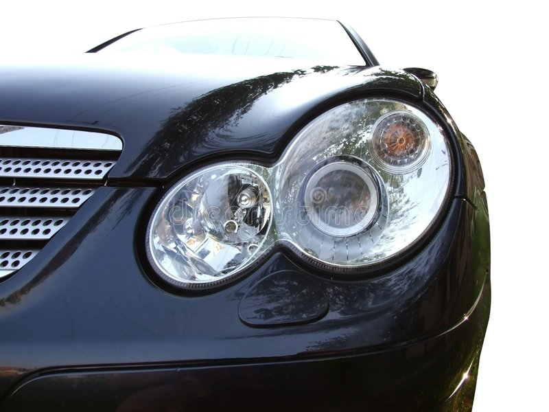 Download Front of car light stock image. Image of headlight, illumination - 3039019