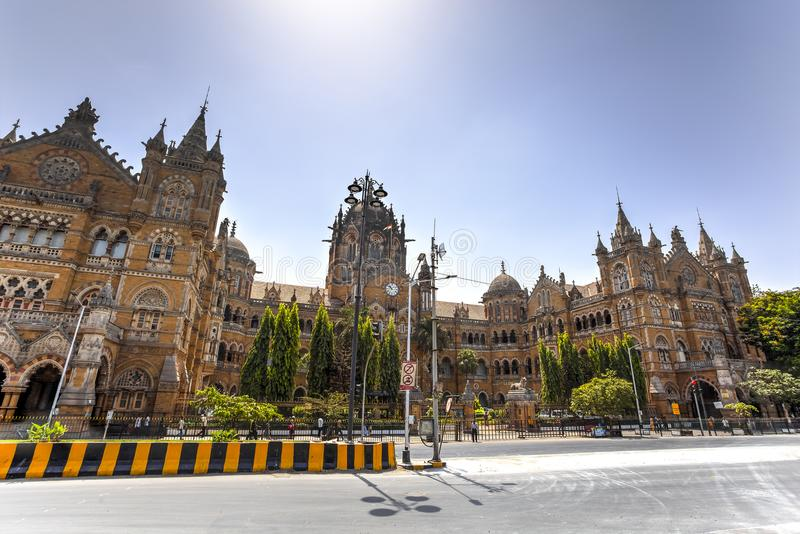 Victoria Terminus, Mumbai, India stock photos