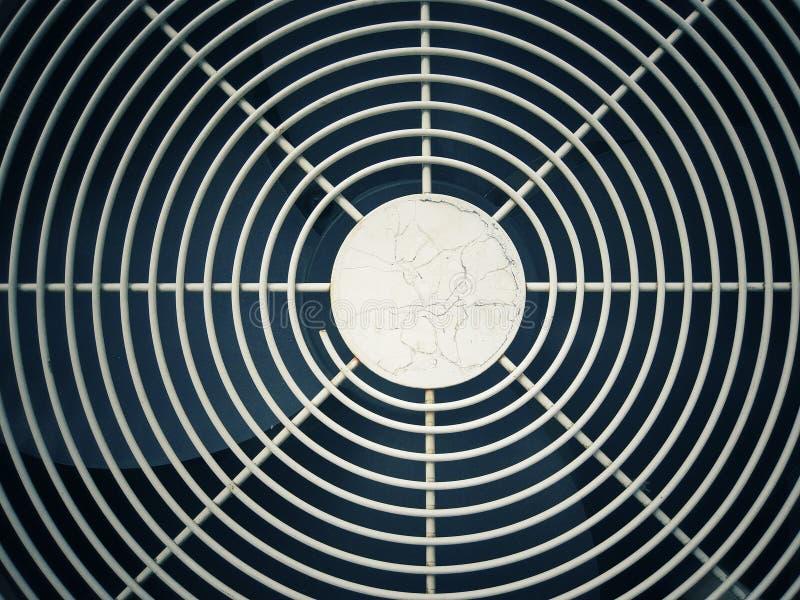 Front der Klimaanlage entziehen Sie Hintergrund stockfoto