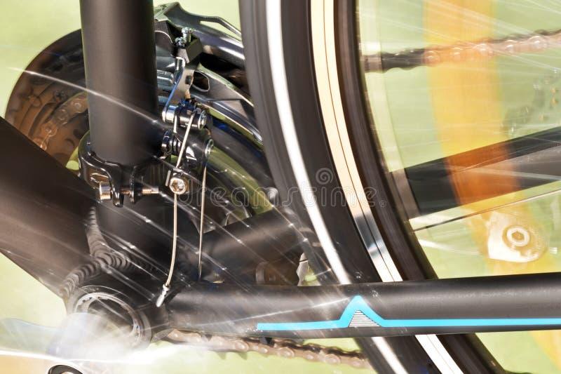 Front Derailleur And Back Wheel stock fotografie