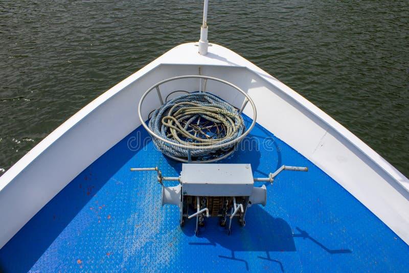 Front des Bootes lizenzfreies stockfoto