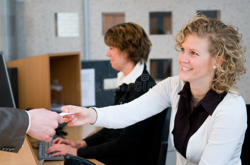 Download Front Desk Stock Photo - Image: 9068830