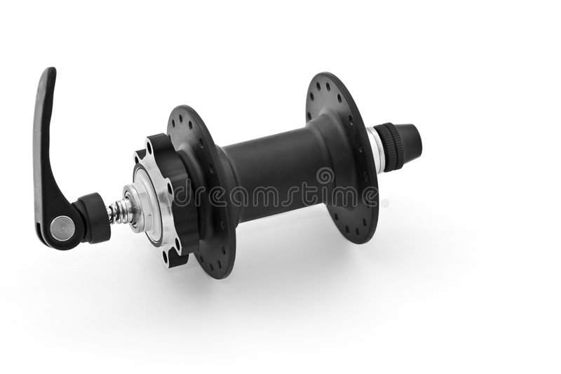 Front disc hub stock image