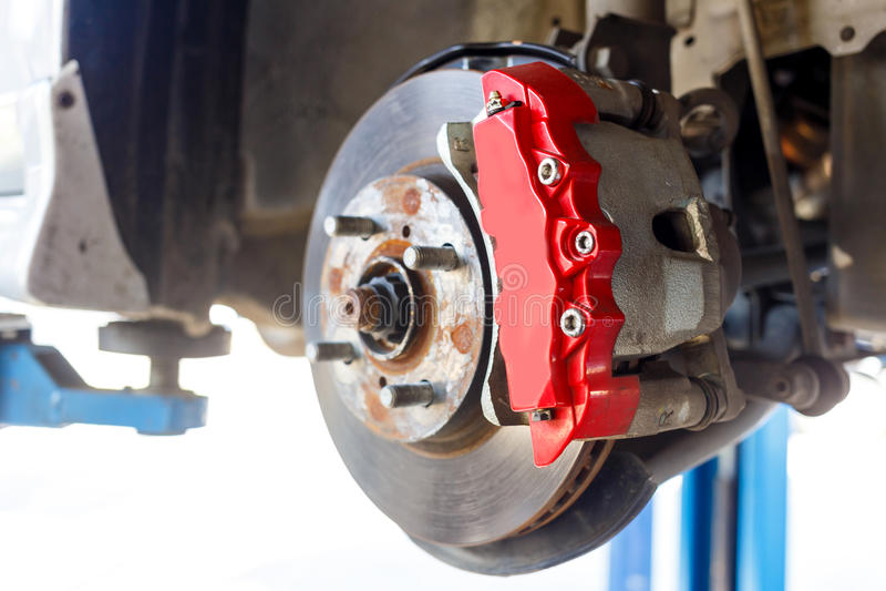 Download Front Disk-de Reparatie Van De Remassemblage Stock Afbeelding - Afbeelding bestaande uit controle, bescherming: 39115537