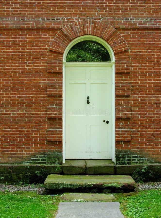 Download Front door stock image. Image of renovate, doors, white - 455515