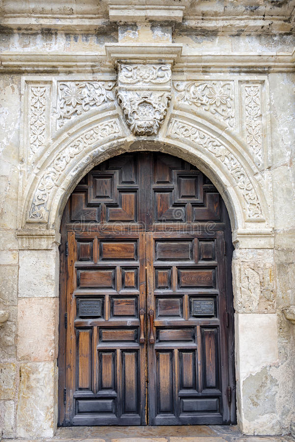 Front Door d'Alamo photo libre de droits
