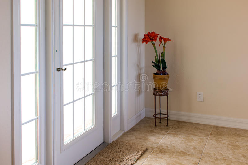 Front Door With Daylight Shining Through Stock Images