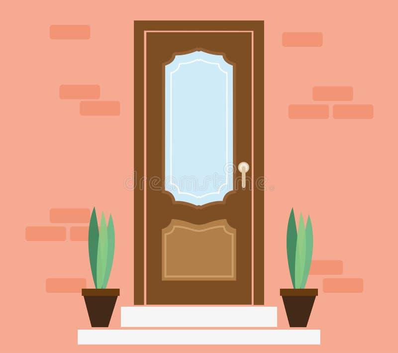 Beautiful Download Front Door House Exterior Entrance Ilustração Do Vetor    Ilustração: 69840123 Part 22