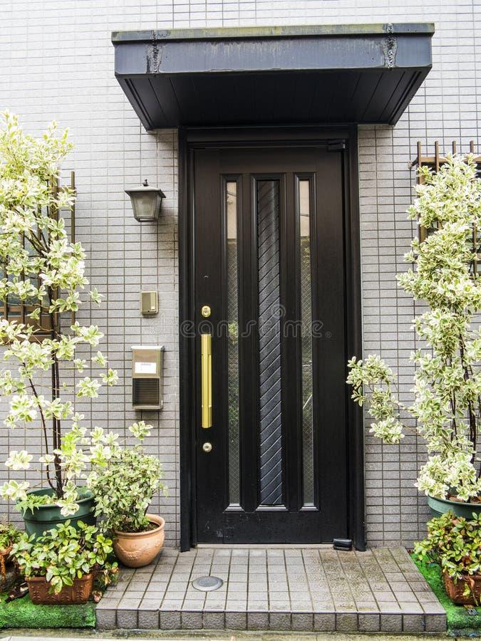 Front door royalty free stock photo