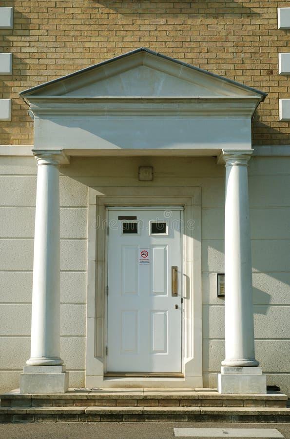 Front Door Of Modern Apartment Building Stock Image - Image of ...