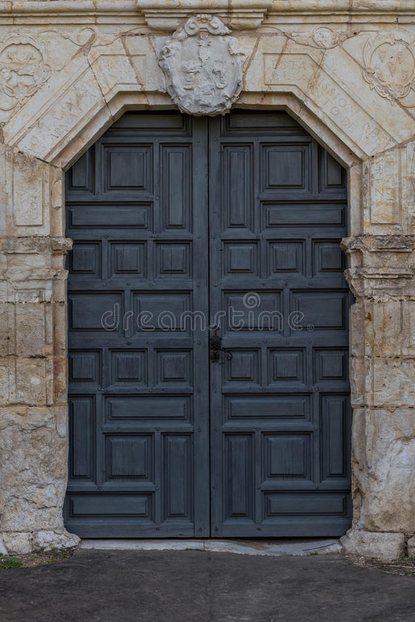 Free Front Door To Old Spanish Mission Royalty Free Stock Photos - 87971798