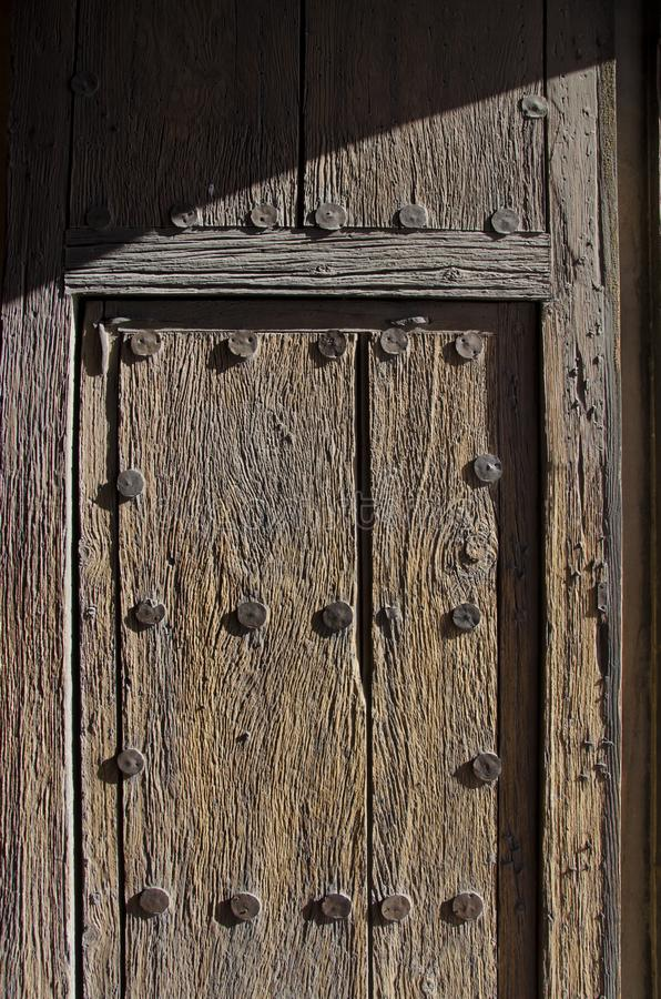 Front Door van San Xavier del Bac Mission stock afbeeldingen