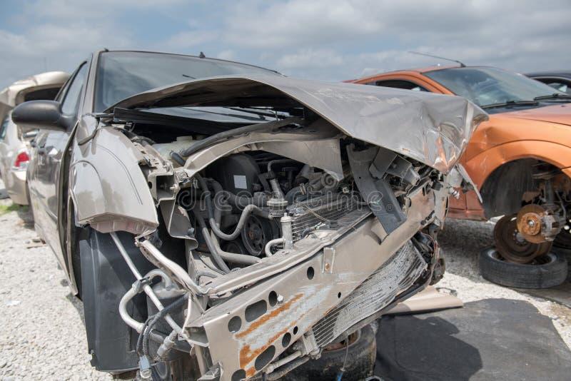 Front End Collision imagem de stock